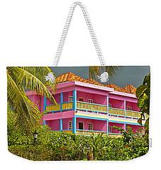 Hotel Jamaica Weekender Tote Bag by Linda Bianic