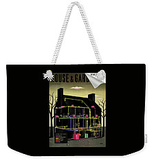 House And Garden Cover Illustration Of The Internal Weekender Tote Bag