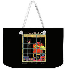 House And Garden Annual Building Number Cover Weekender Tote Bag