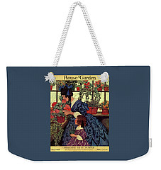House And Garden Christmas Gift Number Cover Weekender Tote Bag