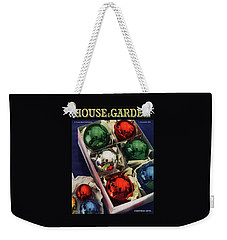 House And Garden Christmas Gifts Issue Cover Weekender Tote Bag