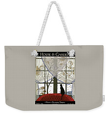 House And Garden Cover Weekender Tote Bag by Andre E.  Marty