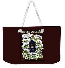 House And Garden Cover Featuring A Collage Weekender Tote Bag