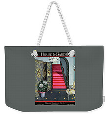 House And Garden Household Equipment Number Cover Weekender Tote Bag