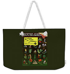 House And Garden How To Plan And Plant Weekender Tote Bag