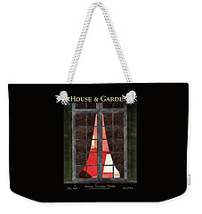 House And Garden Summer Furnishings Number Cover Weekender Tote Bag
