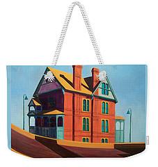 House By The Freeway Weekender Tote Bag