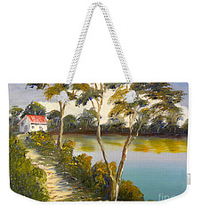House By The Lake Weekender Tote Bag