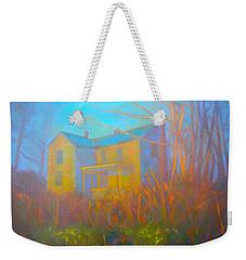 House In Blacksburg Weekender Tote Bag by Kendall Kessler