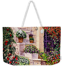 House In Oyster Bay Weekender Tote Bag by Sher Nasser