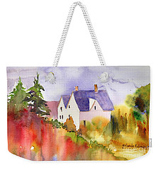House In The Country Weekender Tote Bag