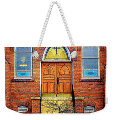 House Of God Weekender Tote Bag