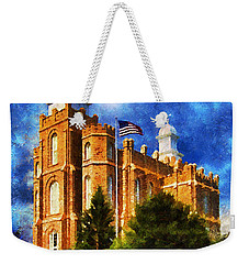 House Of Learning Weekender Tote Bag by Greg Collins