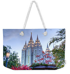 House Of The Lord Weekender Tote Bag by Dustin  LeFevre