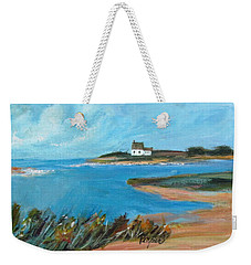 House On The Point Weekender Tote Bag