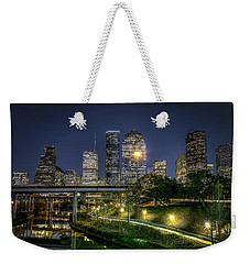 Houston On The Bayou Weekender Tote Bag