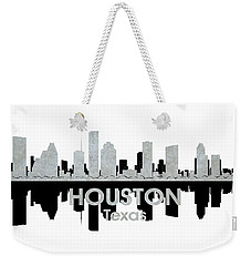 Houston Tx 4 Weekender Tote Bag by Angelina Vick