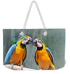How About A Little Kiss Weekender Tote Bag
