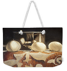 How Does Eggs For Breakfast Sound? Weekender Tote Bag