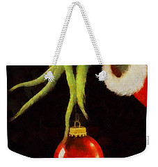 How The Grinch Stole Christmas Weekender Tote Bag by Dan Sproul