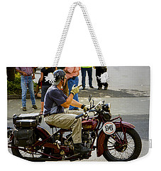 Howdy Indian 96 Weekender Tote Bag