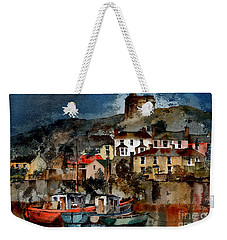 Howth Harbour In County Dublin Weekender Tote Bag