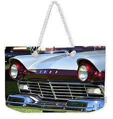 Weekender Tote Bag featuring the photograph Hr-11 by Dean Ferreira