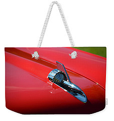 Weekender Tote Bag featuring the photograph Hr-12 by Dean Ferreira