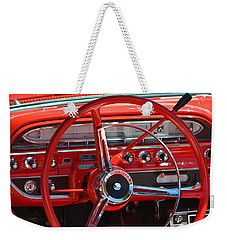 Weekender Tote Bag featuring the photograph Hr-41 by Dean Ferreira