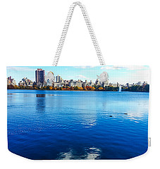 Hudson River Fall Landscape Weekender Tote Bag
