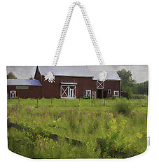 Hudson Valley Barn Weekender Tote Bag
