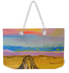 Sealed With A Kiss Weekender Tote Bag by Meryl Goudey