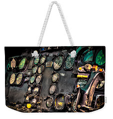 Huey Instrument Panel Weekender Tote Bag