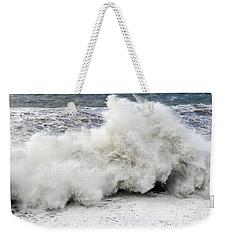 Huge Wave Weekender Tote Bag