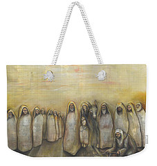'humble Procession Of The King' Weekender Tote Bag