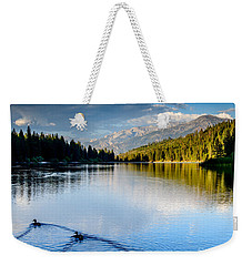 Hume Lake Evening Weekender Tote Bag