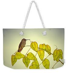 Hummer Lookout Weekender Tote Bag by Joyce Dickens