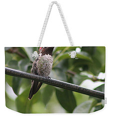 Hummer On A Wire Weekender Tote Bag
