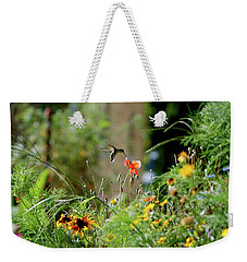 Weekender Tote Bag featuring the photograph Humming Bird by Thomas Woolworth