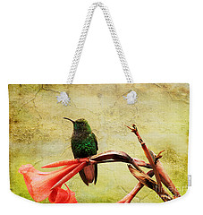 Hummingbird 1 Weekender Tote Bag