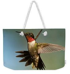 Hummingbird Beauty Weekender Tote Bag