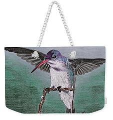 Hummingbird Weekender Tote Bag by Kume Bryant