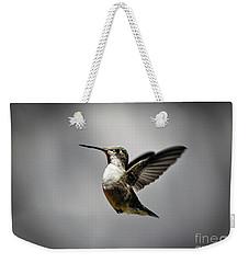 Hummingbird Weekender Tote Bag by Savannah Gibbs