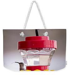 Hummingbird Tongue Weekender Tote Bag
