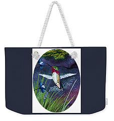 Hummingbird Two Weekender Tote Bag