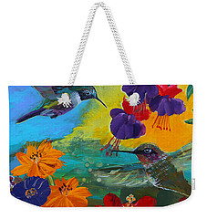 Hummingbirds Prayer Warriors Weekender Tote Bag