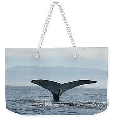 Humpback Whale Tail 3 Weekender Tote Bag