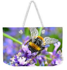 Hungry Bee Weekender Tote Bag
