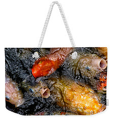 Hungry Koi Fish Weekender Tote Bag