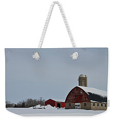 Weekender Tote Bag featuring the photograph Hunterdon County Landscape by Steven Richman